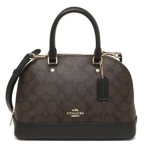 Coach Mini Sierra Crossbody Satchel Bag